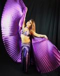 Katie belly dancer