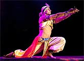 Shiva belly dance