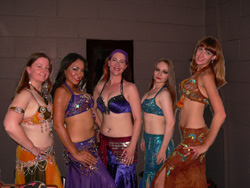 Belly Dancer class