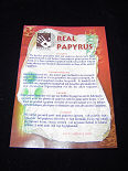 PAPYRUS - Certificate
