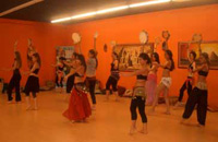 belly dancer classes