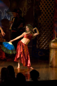 belly dancer kids parties
