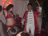 belly dancer party